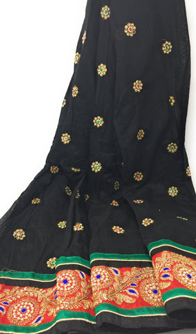 Image of chanderi dress material price