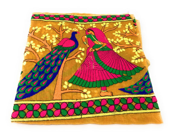 chanderi silk fabric online
