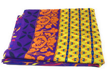 Load image into Gallery viewer, Pure Cotton, Printed colour fast leheriya design with panel, purple colour