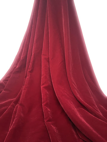Image of velvet fabric by the yard