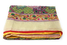 Load image into Gallery viewer, Full Embroidery Dupatta - Kanha Work on Madhubani Art