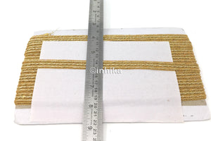 antique gold saree border