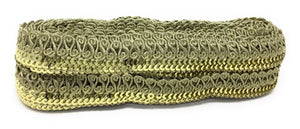 lace ribbon gold