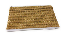Load image into Gallery viewer, gold beaded lace trim