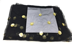 Embroidery with Bead Sequins Work cloth