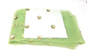 Light Green wedding material