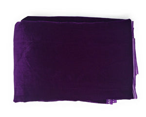 Purple Velvet Fabric cloth