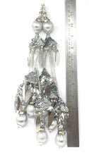 Load image into Gallery viewer, silver latkan for lehenga in Silver - Set of 2