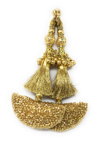 Blouse Hanging in Gold  - Set of 2
