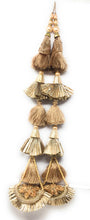 Load image into Gallery viewer, Rose Gold Designer Tassels For Lehenga - Set of 2