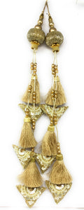 Gold Sequence Latkan - Set of 2