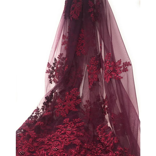 wine color fabric