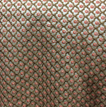 buy fabric online cheap india designer fabric online india Embroidered Dupion Silk Beige, Bronze, Pink, Copper 42 inches Wide 8065