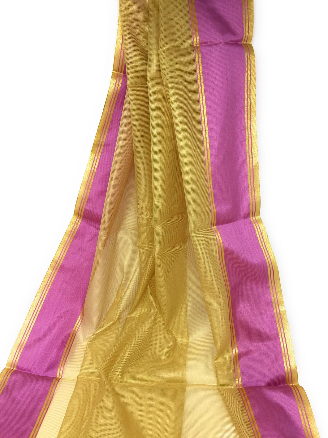 Gold Organza fabric