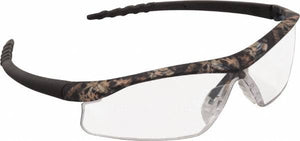 MCR Safety Mossy Oak Clear Lenses, Framed Safety Glasses