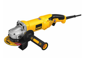 "DeWalt 4-1/2"" / 5"" HIGH PERFORMANCE GRINDER W/ NO-LOCK ON TRIGGER GRIP"