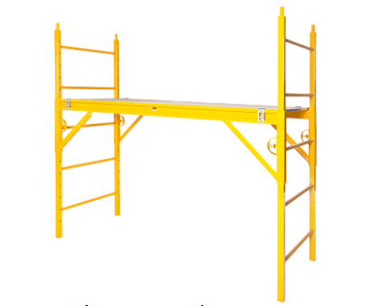 6 ft Nu-Wave Scaffold 660 Classic w/ 5 in PC5B-S Casters