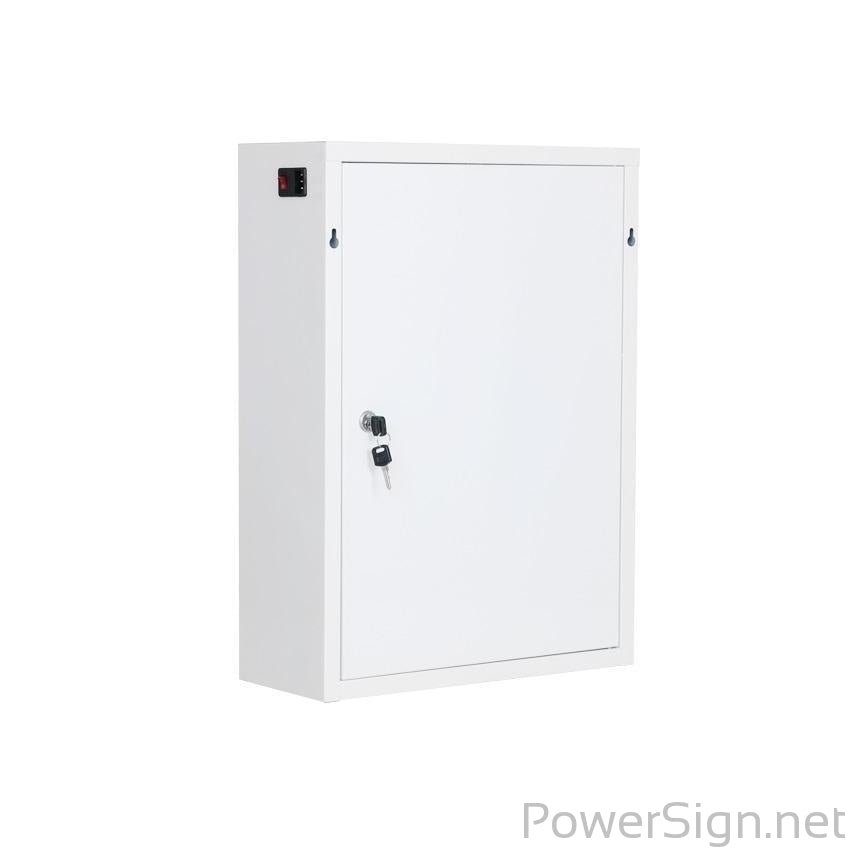 PowerSign Phone charger locker Coin Operated 6-door pin code lock CARGALOCKER charging locker station