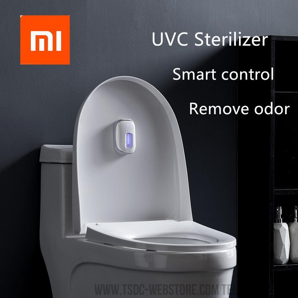 UVC Smart Ultraviolet Sterilization Deodorizer Intelligent USB Waterproof UV Germicidal Lamp Toilet Disinfect Deodorizer Lights