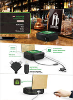 Portable Charger Power Bank with Menu Holder