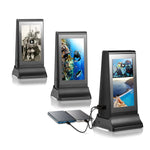 PowerSign ADX-4 WiFi Table Advertising Player Single LCD / Restaurant Menu / Charging Station ADX4
