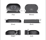 PowerSign QI Wireless Mobile Charger Menu Holder for Restaurant / Hotels (Ships from China)