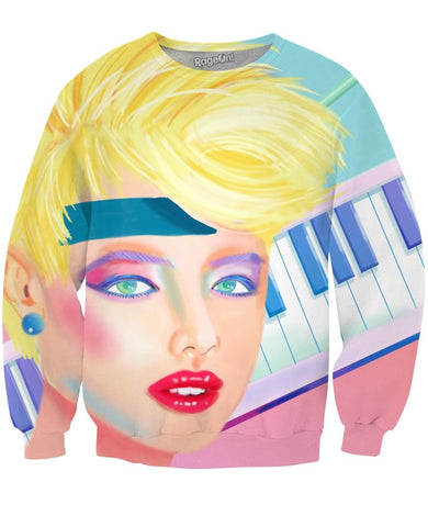 80s Woman Crewneck Sweatshirt