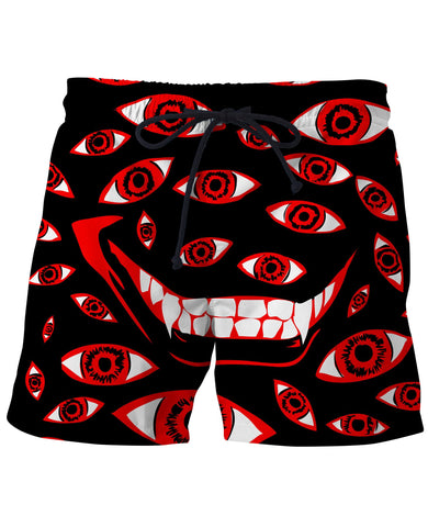 Control Art Restriction  Swim Trunks