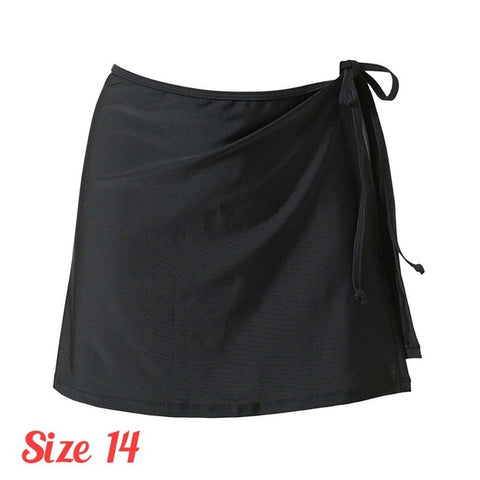 2017 Ladies Mix Match Solid Color Swim Beachwear Skirt Wrap Sexy Bikini Cover Soft Black/White Strap Cover drop Shipping