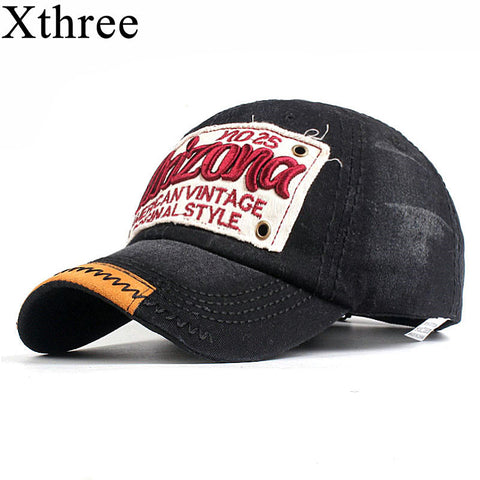 Xthree Fashion Men's Baseball Cap with Pattern Fitted Cap Snapback Hat men Gorras Casual Casquette Embroidery Letter Cap