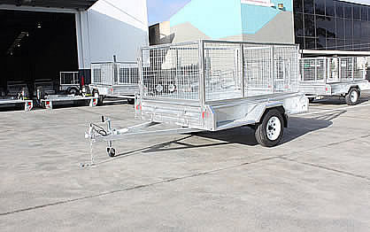 8 x 5  HEAVY DUTY SINGLE AXLE TRAILER