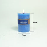 Wax Blue Candles