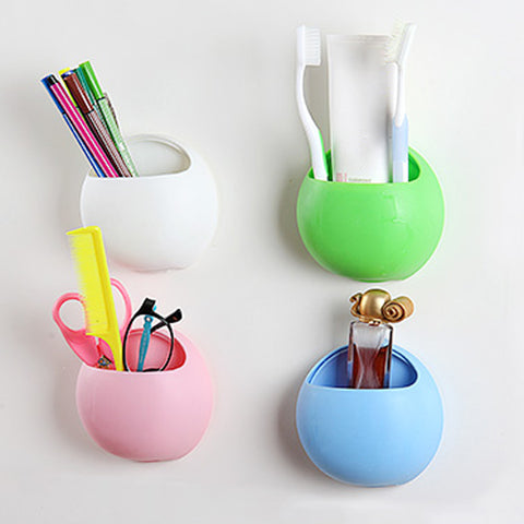 Cute Tooth brush Holder Cups Organizer