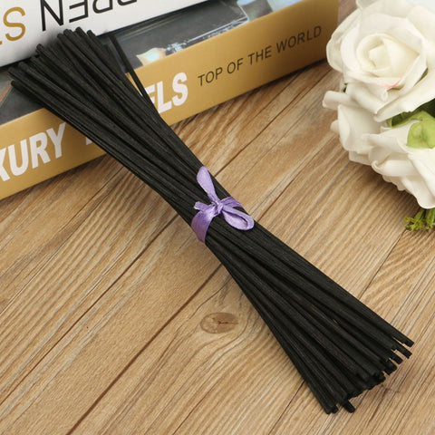 50Pcs/pack Black Rattan Reed Fragrance Sticks 250x3mm