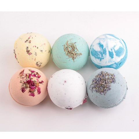 Natural Bubble Bath Bombs