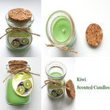 Kiwi fruit scented Candle