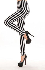 Beetle Babe Striped Leggings