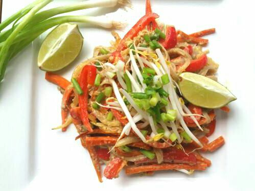 Easy Peanut & Egg Free Pad Thai