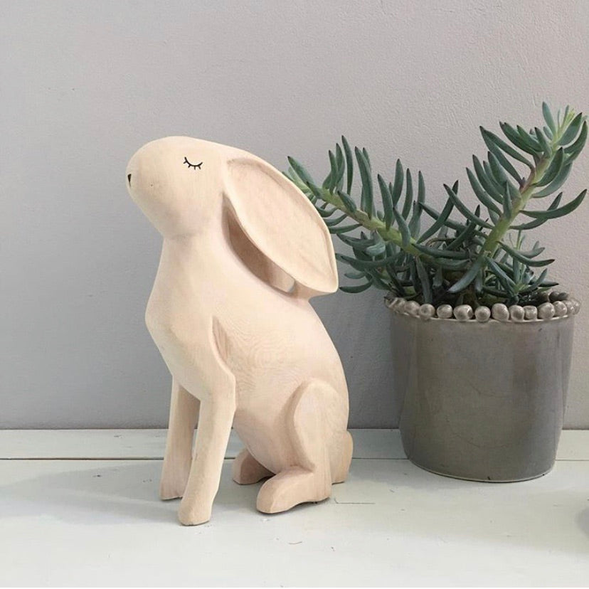 Hand carved Rabbit