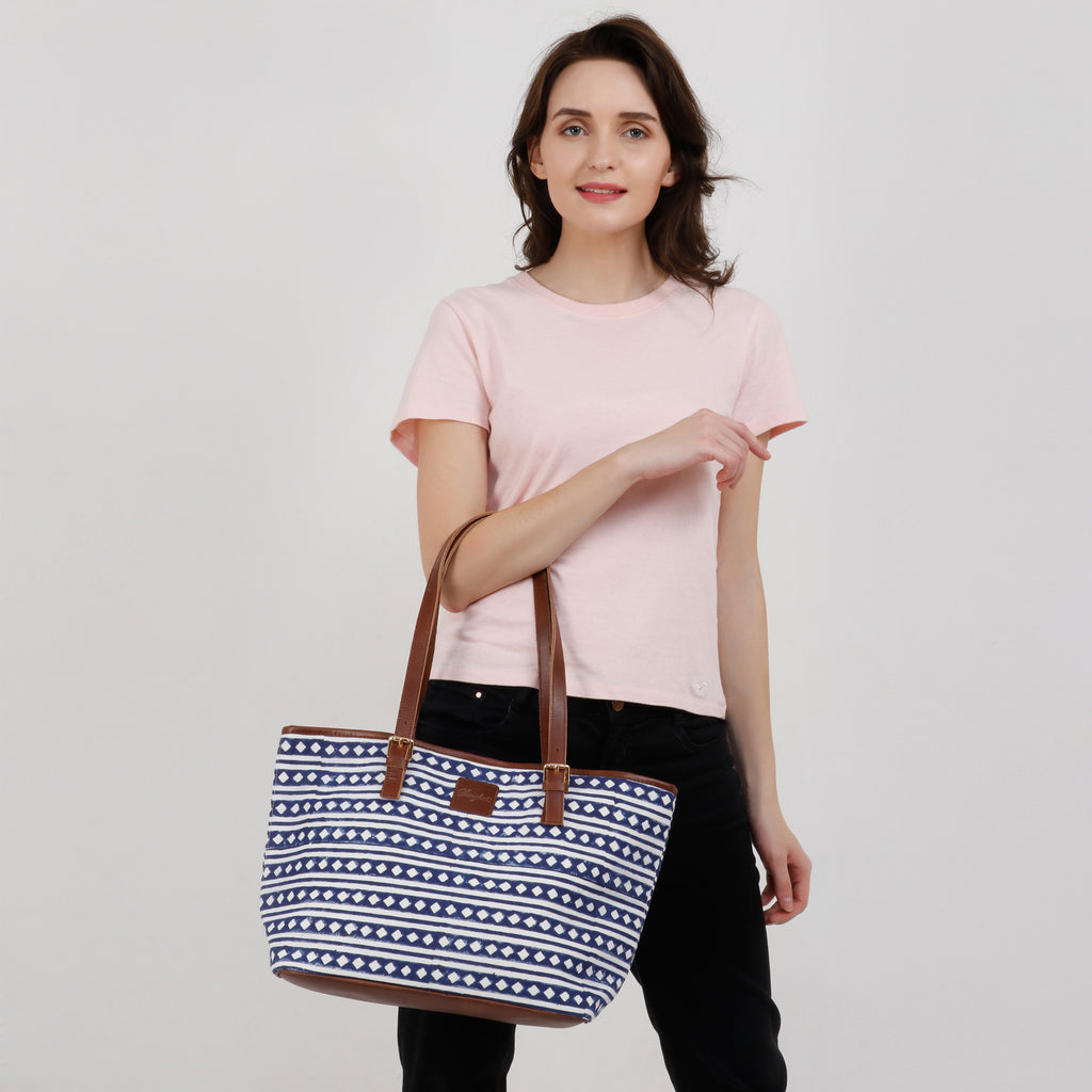 Diamonique Tote Bag