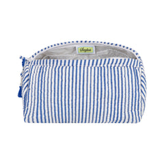 Seersucker Cosmetic Bag