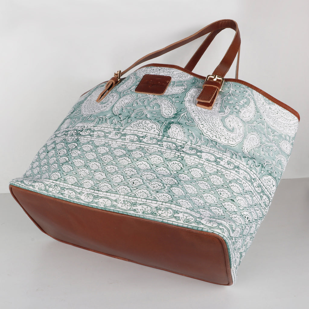 Monsoon Forest Tote Bag