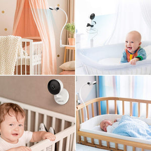 Baby Monitor with Camera and Audio,Foscam Baby Monitor with Mount 1080P