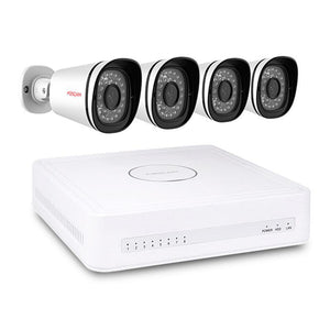 Foscam 8 Channels xPoE 720P Security CCTV Surveillance System With 4 IP Cameras - Foscam