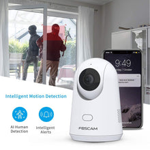 Load image into Gallery viewer, Foscam X2 Baby Monitor 2.4G 1080P Pet Camera with PTZ Human Sound Detection - Foscam