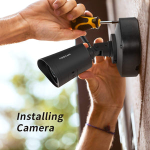Outdoor WiFi Camera,  with Human Detection, Night Vison, IP66 Waterproof,NEW Verison