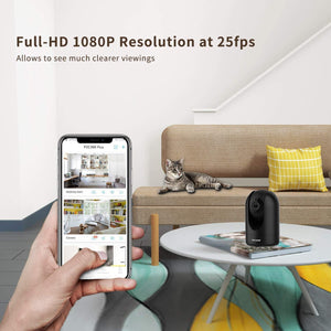 BUY 1 GET 1 FREE - Home Camera, Huntvision P2 1080P WiFi Camera Indoor Baby Monitor