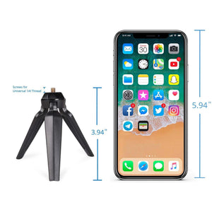 Foscam Universal Tripod for Webcam, with Screw for 1/4 Thead, Stand Accessory for Camera, - Foscam