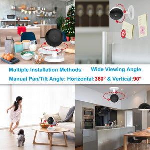 Christmas gift - Foscam X1 1080P WIFI baby monitor with AI Human Detection - Foscam