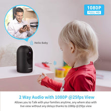 Load image into Gallery viewer, Foscam Refurbished R2C 1080P HD WiFi Indoor Camera For Home with APP - Foscam